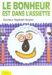 Le Bonheur Est Dans L'Assiette - Intérieur - Format classique