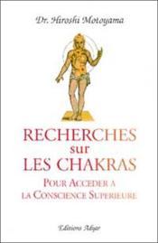Recherches Sur Les Chakras - Couverture - Format classique
