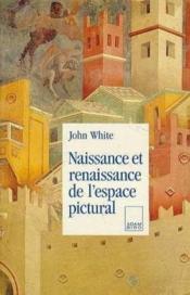 Naissance et renaissance de l'espace pictural - Couverture - Format classique