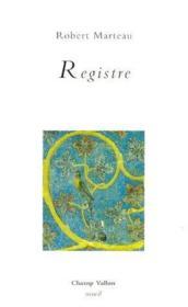 Registre - Couverture - Format classique