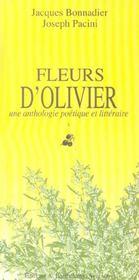 Fleurs D'Oliviers - Intérieur - Format classique