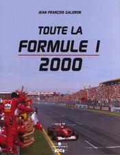 Toute la formule 1 ; edition 2000 - Intérieur - Format classique