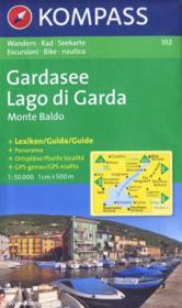 Gardasee ; Lago di Garda ; monte baldo - Couverture - Format classique
