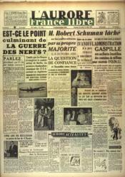 Aurore France Libre (L') N°1196 du 18/07/1948 - Couverture - Format classique