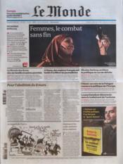 Monde (Le) N°20881 du 09/03/2012 - Couverture - Format classique