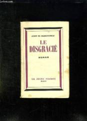 Le Disgracie. - Couverture - Format classique