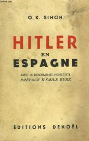 Hitler En Espagne - Couverture - Format classique