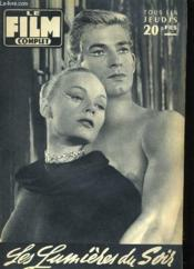 Film Complet N° 606 - Les Lumieres Du Soir - Couverture - Format classique