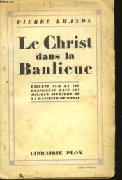 Le Christ Dans La Banlieue - Couverture - Format classique