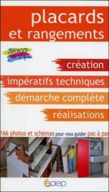 Placards et rangements - Couverture - Format classique