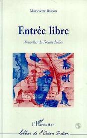Entree Libre ; Nouvelles De L'Ocean Indien - Intérieur - Format classique