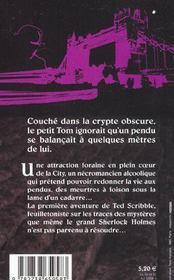La Crypte Du Pendu - 4ème de couverture - Format classique