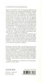 Grains de beautés et autres minuties d'un collectionneur de mouches - 4ème de couverture - Format classique