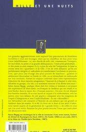 Les Derouilleurs - 4ème de couverture - Format classique