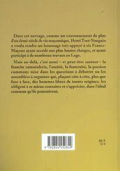 Figures De Francs-Macons De La Grande Loge De France - 4ème de couverture - Format classique