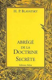 Abrégé de la doctrine secrète - Couverture - Format classique