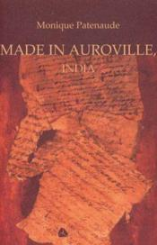 Made In Auroville India - Couverture - Format classique