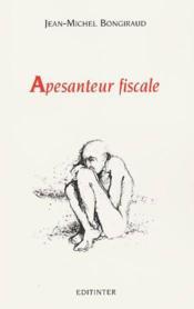 Apesanteur Fiscale - Couverture - Format classique