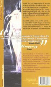 La Riviere Aux Esprits - 4ème de couverture - Format classique