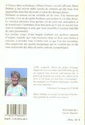 Parfumez Votre Maison - Recettes Anciennes De Marie-Tisane - 4ème de couverture - Format classique