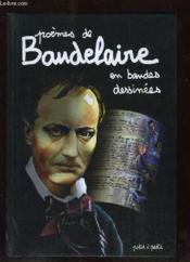 Poèmes de Baudelaire en bandes dessinées - Couverture - Format classique