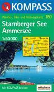 Starnberger see/ammersee ; 1/50.000 ; n.180 - Couverture - Format classique
