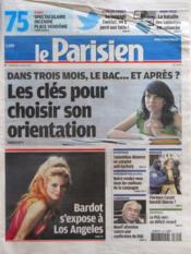 Parisien 75 (Le) N°20991 du 09/03/2012 - Couverture - Format classique