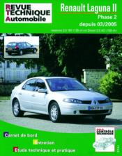 Rta B700.5 Laguna Ii Phase 2.2.0 16v/2.0dci 03/2005 - Couverture - Format classique
