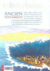 Ancien Testament - 4ème de couverture - Format classique
