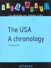 The Usa A Chronology - Couverture - Format classique