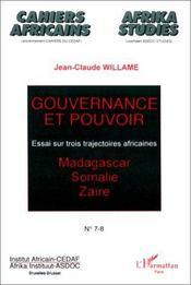 Gouvernance et pouvoir - Intérieur - Format classique