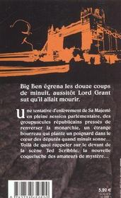 Le Bourreau Passe A Minuit My Lord ! - 4ème de couverture - Format classique