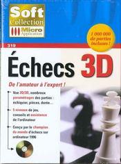 319- Echecs 3d - Intérieur - Format classique