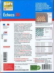 319- Echecs 3d - 4ème de couverture - Format classique
