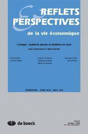 Revue Reflets Et Perspectives T.4 ; Energie Mutations Passées Et En Cours (Edition 2007) - Intérieur - Format classique