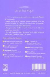 Éthique - 4ème de couverture - Format classique