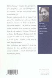 Bleu profond - 4ème de couverture - Format classique