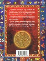 Symboles Des Incas Des Mayas Et Des Azteques (Les) - 4ème de couverture - Format classique