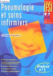 Pneumologie et soins infirmiers ; 2e édition - Intérieur - Format classique