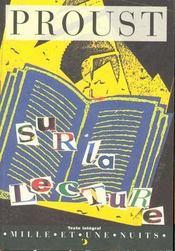 Sur la lecture - Intérieur - Format classique