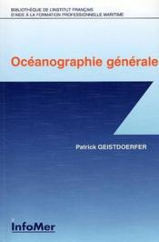 Océanographie générale - Couverture - Format classique
