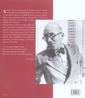 Le corbusier ou la synthese des arts - 4ème de couverture - Format classique