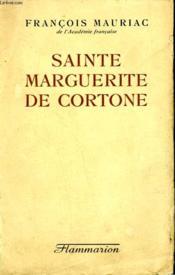 Sainte Marguerite De Cortone. - Couverture - Format classique