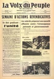 Voix Du Peuple De Touraine (La) N°1290 du 17/04/1966 - Couverture - Format classique
