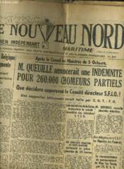 Le Nouveau Nord Maritime N°904 - 5eme Annee - Mercredi 5 Novembre 1949. - Couverture - Format classique