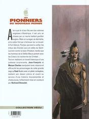 Les pionniers du nouveau monde t.13 ; les chemins croches - 4ème de couverture - Format classique