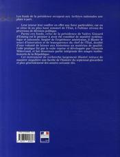 Valéry giscard d'estaing ; archives de la présidence de la république - 4ème de couverture - Format classique
