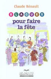 Blagues Pour Faire La Fete - Intérieur - Format classique
