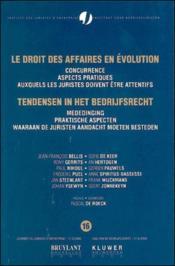 Droit Des Affaires En Evolution T.16 - Couverture - Format classique