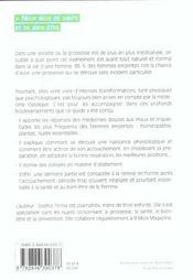 Le Guide De La Grossesse Naturelle - Neuf Mois De Sante Et De Bien-Etre - 4ème de couverture - Format classique